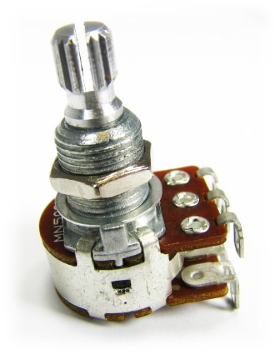2pc. Bourns 500KOhm Guitar Blend/Balance Potentiometers – for blending between two electric guitar pickups